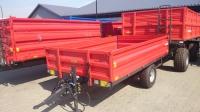 Przyczepa rolnicza ciężarowa T735/1 T735/2 2,5t METAL-FACH