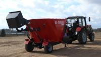 Wóz paszowy BEL-MIX T659 jednowirnikowy 6, 7, 8, 9, 10, 11, 12, 13 m3 METAL-FACH