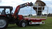 Przyczepa rolnicza platformowa dwuosiowa T014/1 9t METAL-FACH