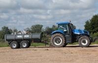 Przyczepa ciężarowa rolnicza tandemowa T952 14t METAL-FACH