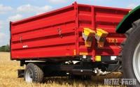 Przyczepa rolnicza ciężarowa T703 3,8t METAL-FACH