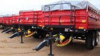 Przyczepa ciężarowa rolnicza tandemowa T730/2 10t METAL-FACH