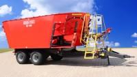 Wóz paszowy BEL-MIX T659 dwuwirnikowy 14m3, 16m3, 18m3, 20m3 METAL-FACH