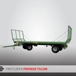 Przyczepa platformowa do bel T022M PRONAR