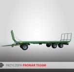 Przyczepa platformowa do bel T026M PRONAR