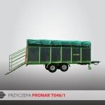 Przyczepa do przewozu zwierząt T046/1 PRONAR