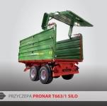 Przyczepa rolnicza ciężarowa tandem T663/1 iT663/1 SILO 10t PRONAR