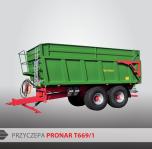Przyczepa rolnicza ciężarowa skorupowa T669/1 TPL 14t PRONAR