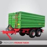 Przyczepa rolnicza ciężarowa tandem T683H 15,2t PRONAR