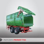 Przyczepa rolnicza ciężarowa skorupowa T700 14,4t PRONAR