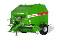 Prasa stałokomorowa PS 1510 FARMA SIPMA zwijająca belująca rolująca