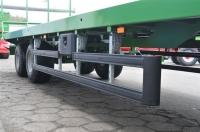 Przyczepa platformowa do bel T023M PRONAR