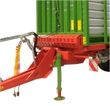 Przyczepa rolnicza ciężarowa tandem do biomasy T400 14,55t PRONAR