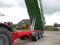 Przyczepa rolnicza ciężarowa tridem T682 21t PRONAR