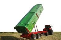 Przyczepa rolnicza ciężarowa trzyosiowa T780 16,3t PRONAR
