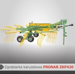 Zgrabiarka karuzelowa ZKP420 PRONAR