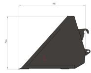 Szufla wzmocniona 1,8m 2,0m 2,2m 2,4m HYDRAMET Giżycko