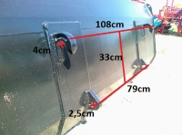 Ładowacz czołowy TUR XTREME-S 800kg HYDRAMET Giżycko