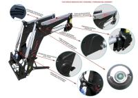 Ładowacz czołowy TUR Basic XTREME 1 1600kg HYDRAMET Giżycko Wyprzedaż