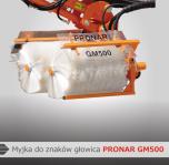 Myjka do znaków głowica GM500 PRONAR