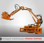 Wysięgniki wielofunkcyjne WWP600, WWP500, WWP500U PRONAR