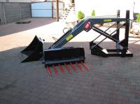 Ładowacz czołowy TUR 1,2,3- sekcyjny 500kg Wol-Met