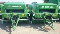 Prasa stałokomorowa PS 1221 FARMA PLUS SIPMA zwijająca belująca rolująca Wyprzedaż
