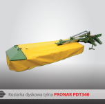 Kosiarka dyskowa PRONAR PDT 340