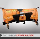 Pług odśnieżny PU-2100 PRONAR