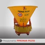 Posypywarka piasku PS-250 napęd WOM PRONAR